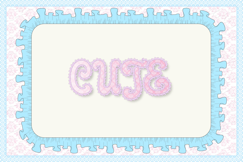12 Shabby Chic Adobe Illustrator Graphic Styles example image 5