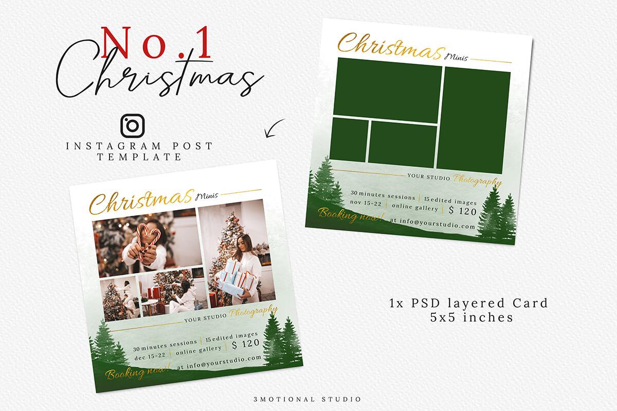 Christmas Mini Session Template 03 example image 3