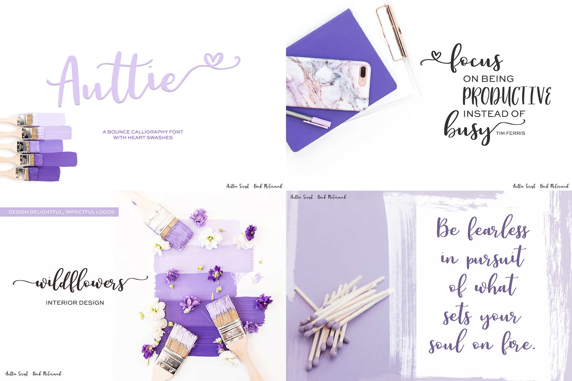 The Cute Crafter's Font Bundle example image 9