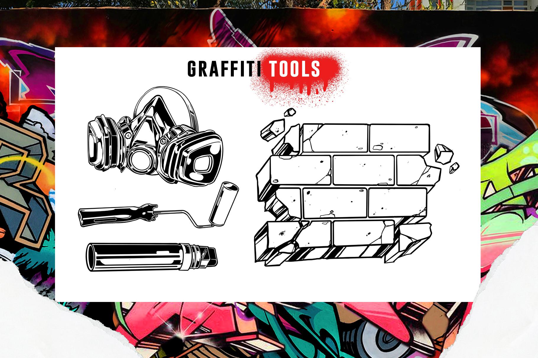 PROCREATE GRAFFITI BOMBING example image 4