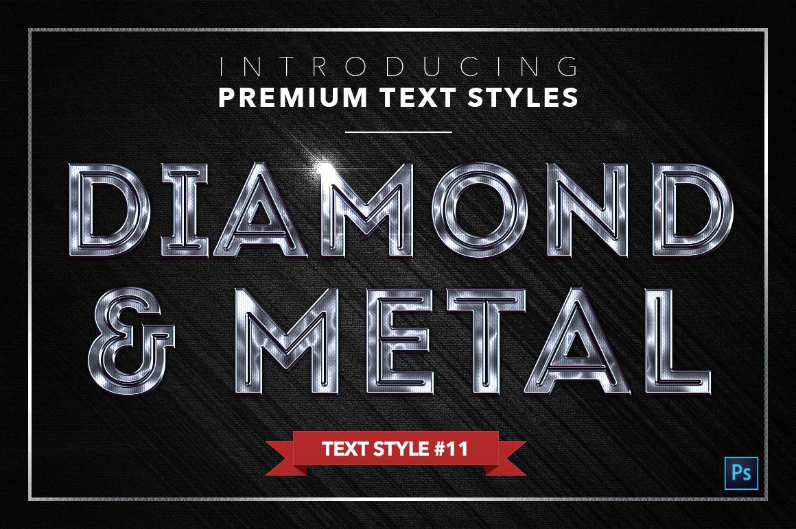 Diamond & Metal #2 - 16 Text Styles example image 12