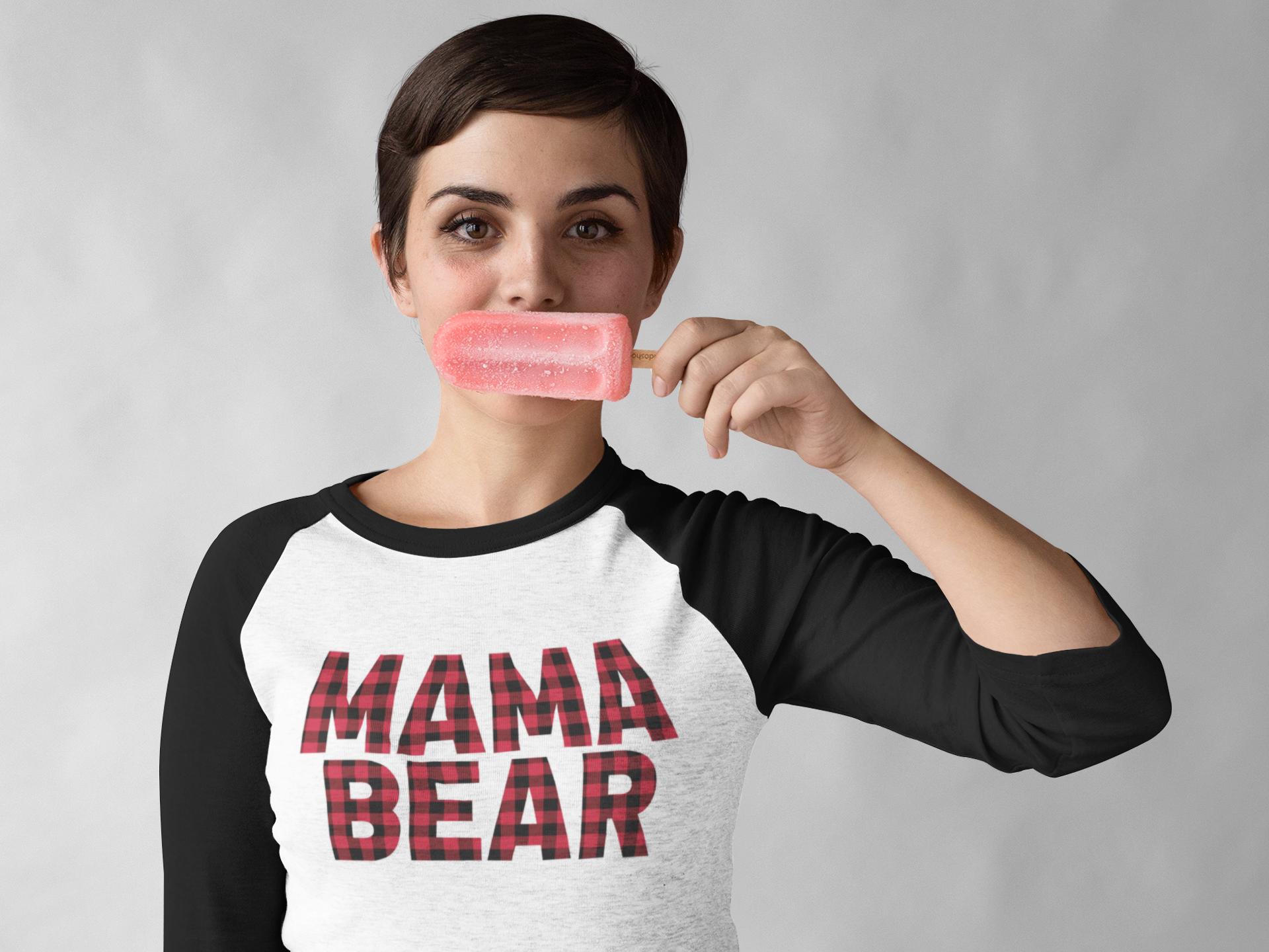 Plaid Bear Family example image 4