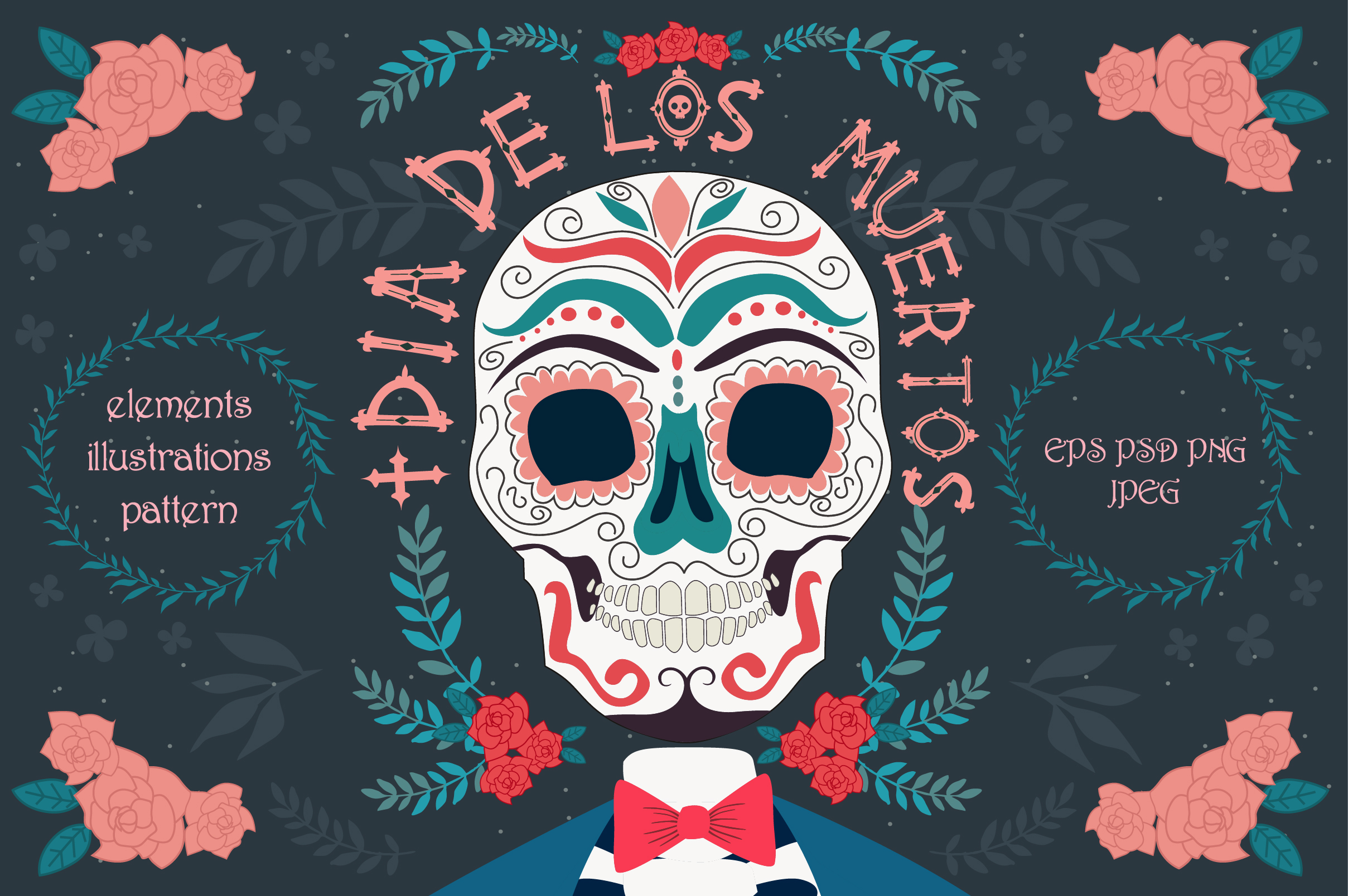 Day of the dead collection example image 1