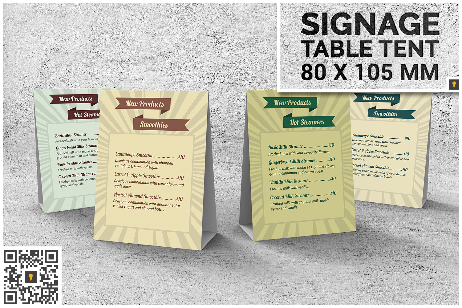 Retro Coffee Shop Menu Bundle 60% SAVINGS example image 4