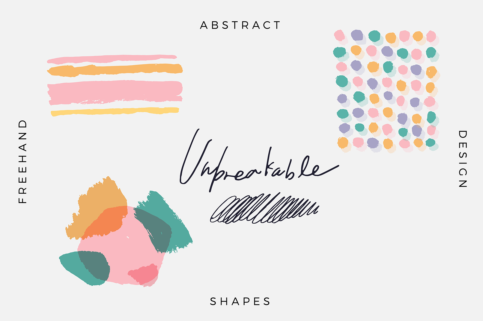 Unbreakable - Free, Abstract, Design example image 1