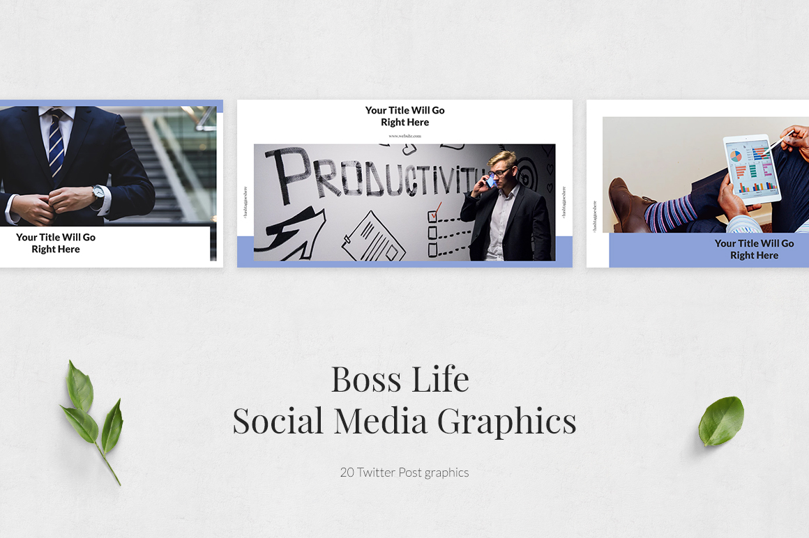 Boss Life Twitter Posts example image 2