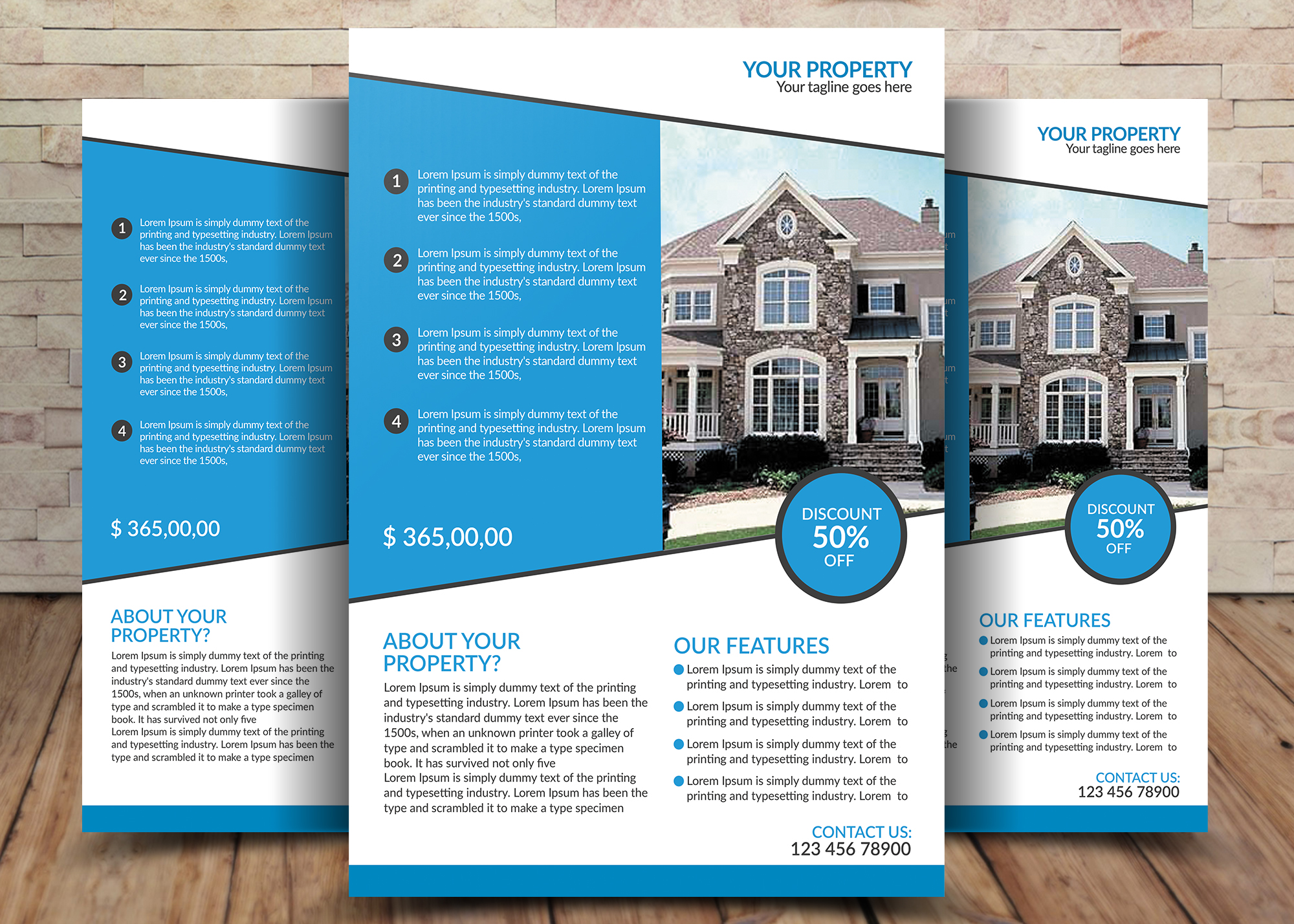 House For Sale Flyer Design example image 1
