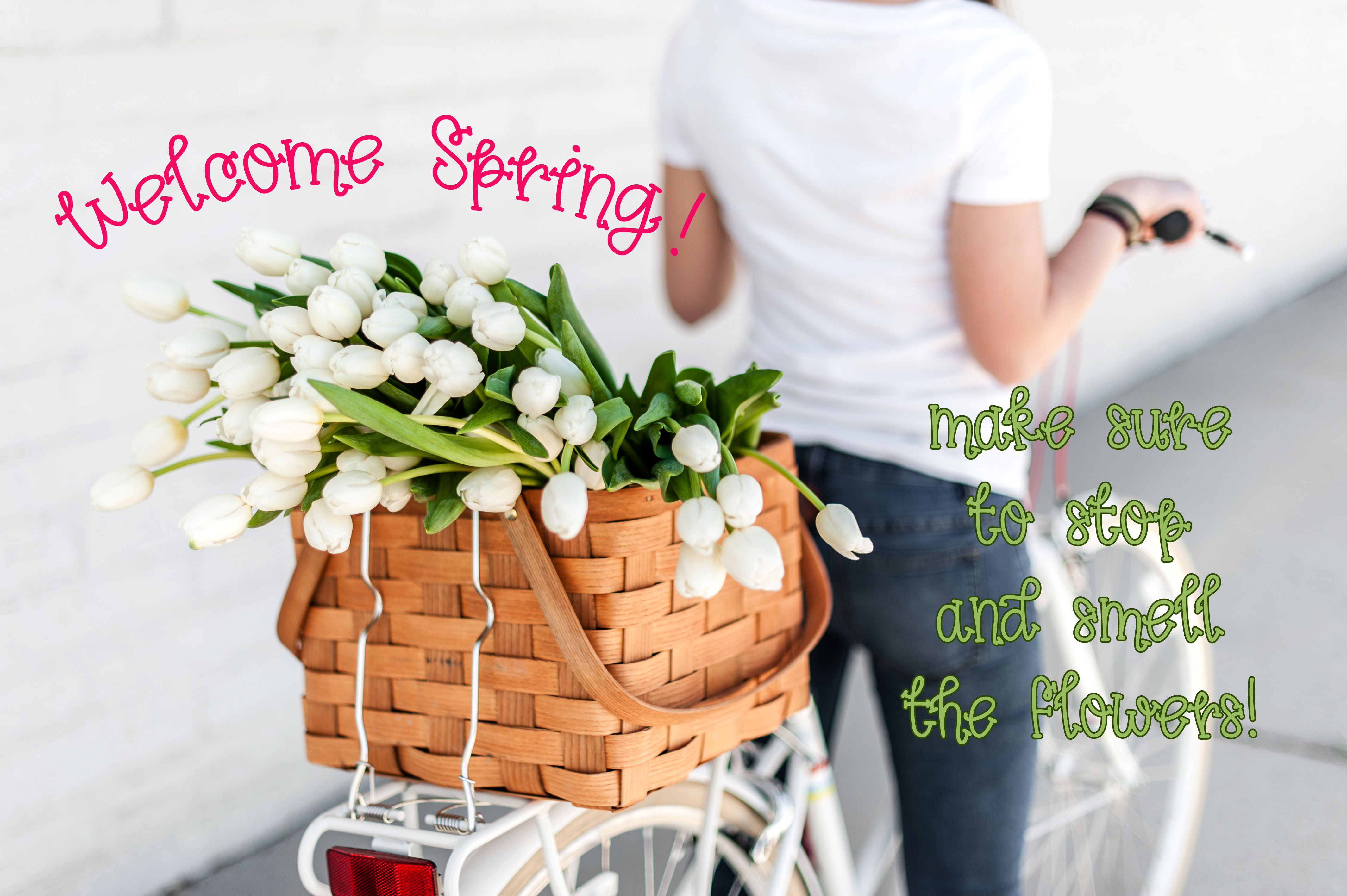 Spring Tulips Font - A Fun Hand Lettered Serif Font example image 5