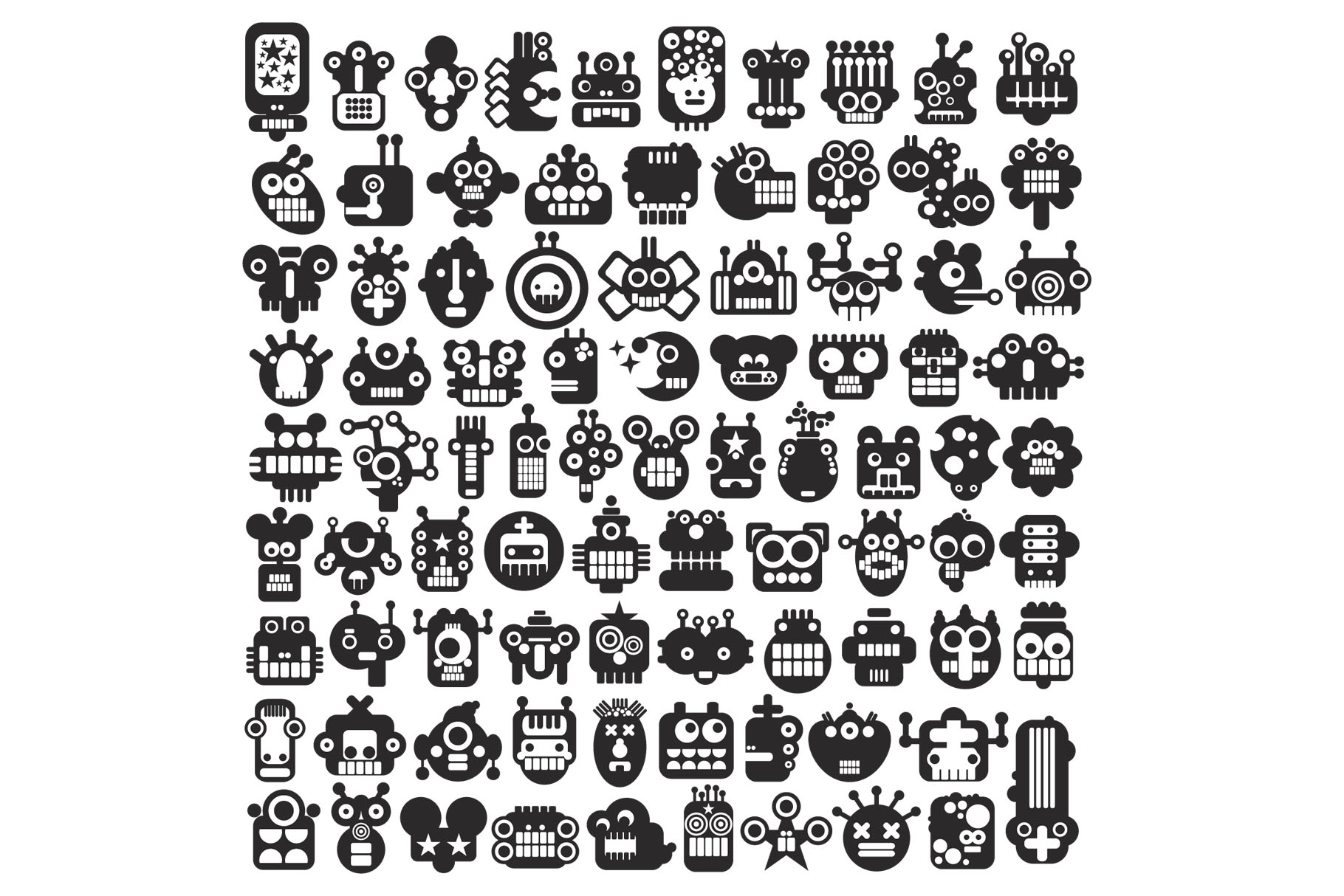 150 monsters patterns example image 3