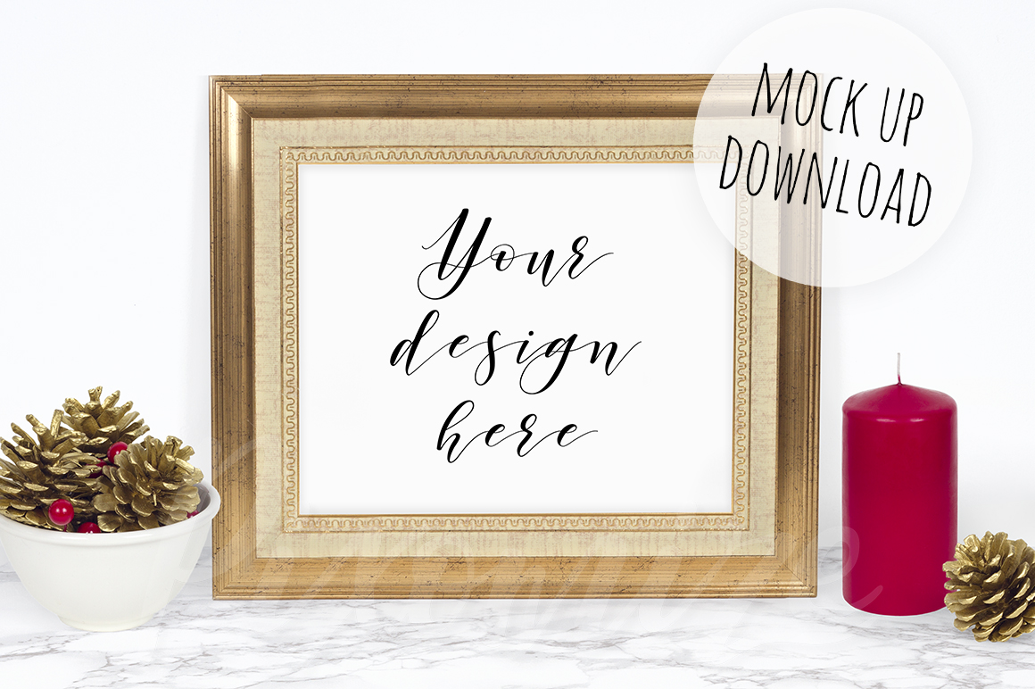 Christmas Frame Mockup Bundle example image 5