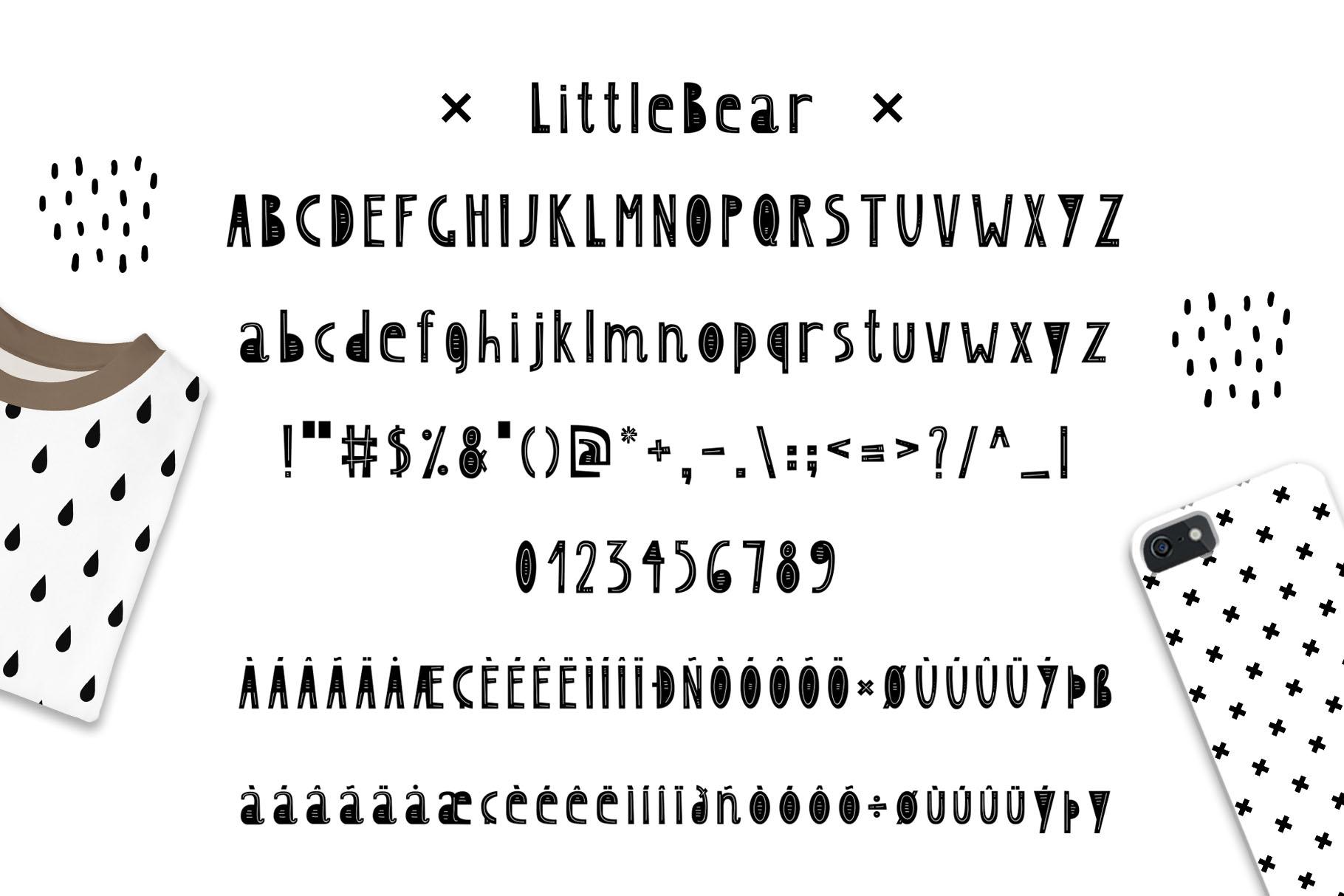 LittleBear & LittleMouse - Font Duo example image 3