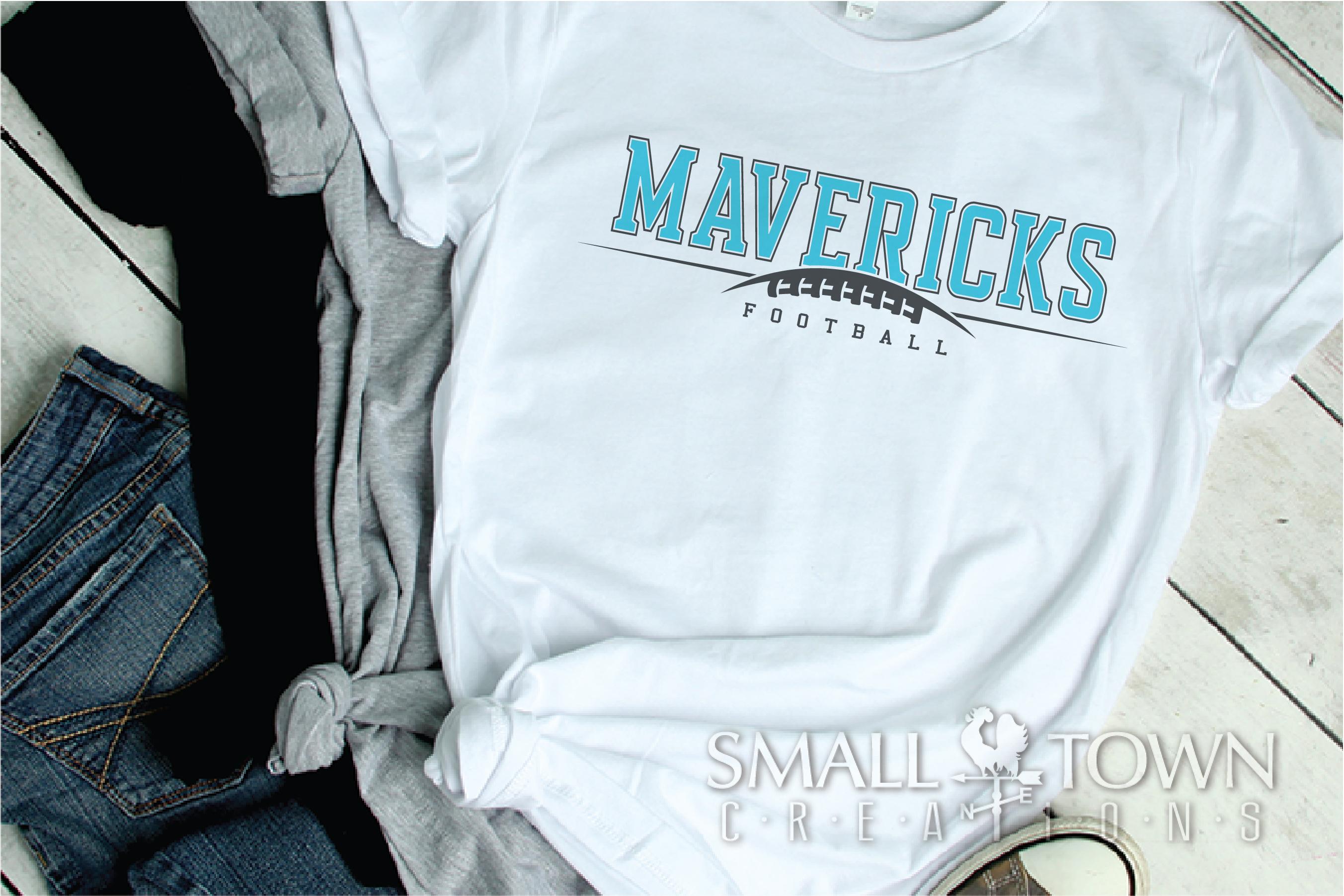 Maverick Football, Football Team, Sport, PRINT, CUT & DESIGN example image 2
