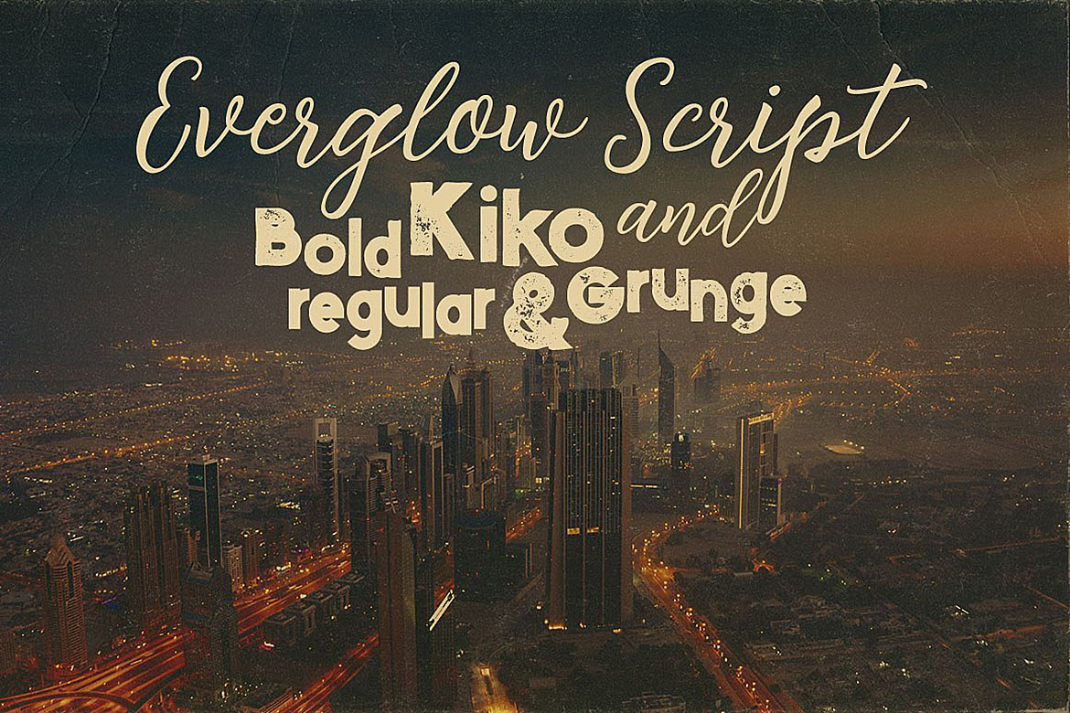 Everglow Script Font Duo example image 3
