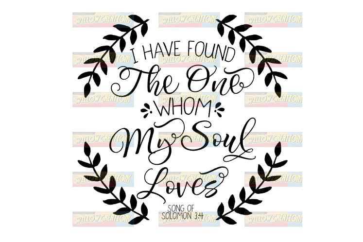 I Have Found the One Whom My Soul Loves - Song of Solomon example image 2