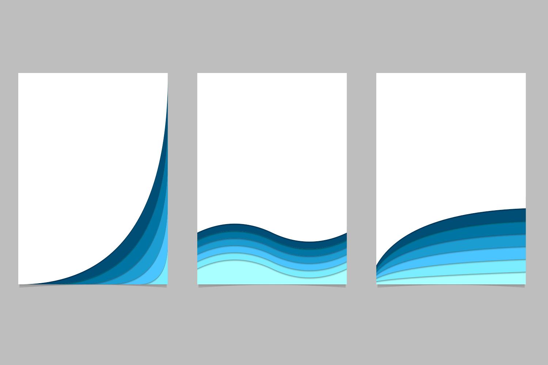 12 Brochure Templates (AI, EPS, JPG 5000x5000) example image 5
