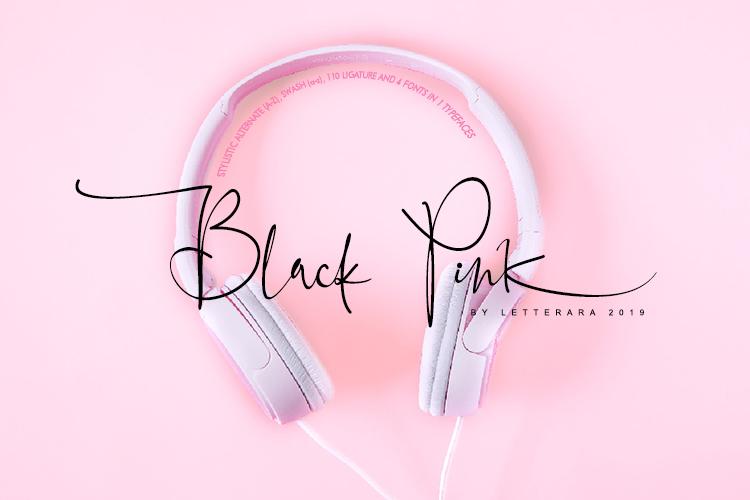 Black Pink Signature example image 1