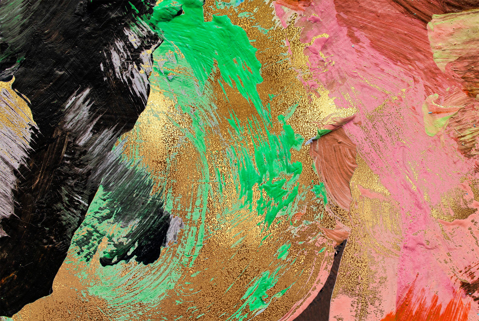 Gold & Painted Backgrounds example image 10