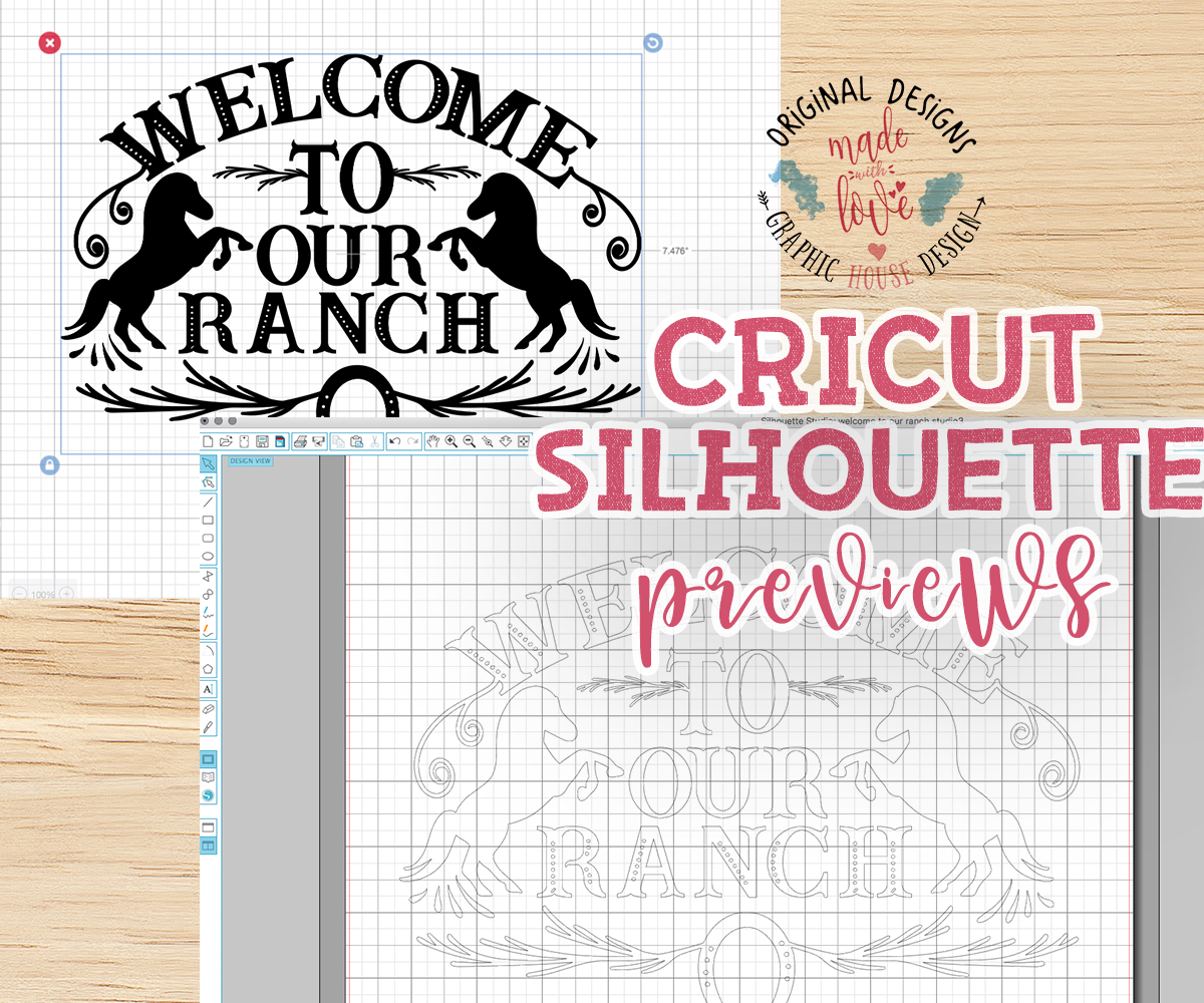 Welcome To Our Ranch Cut File example image 2