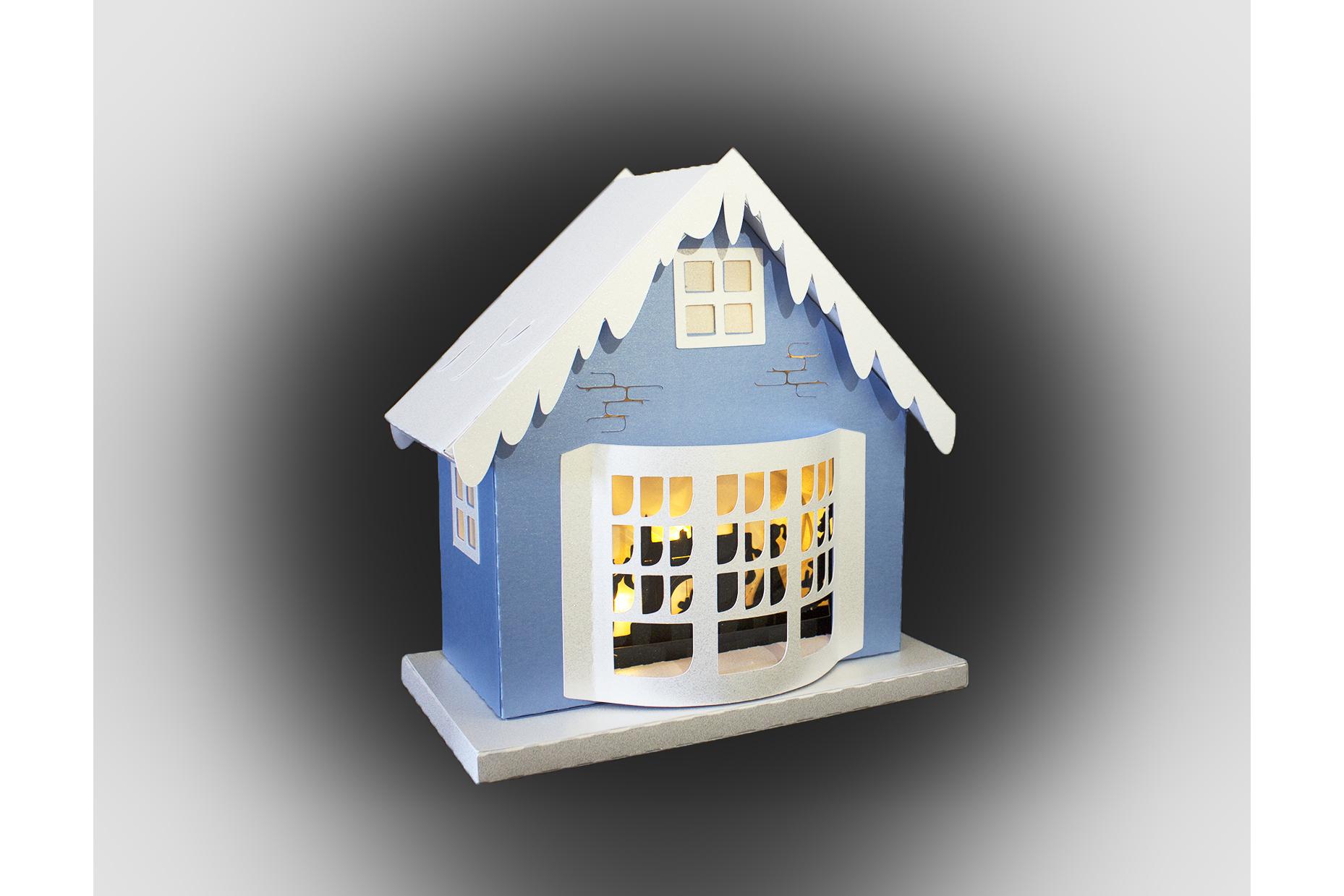 One more sleep Christmas house example image 3