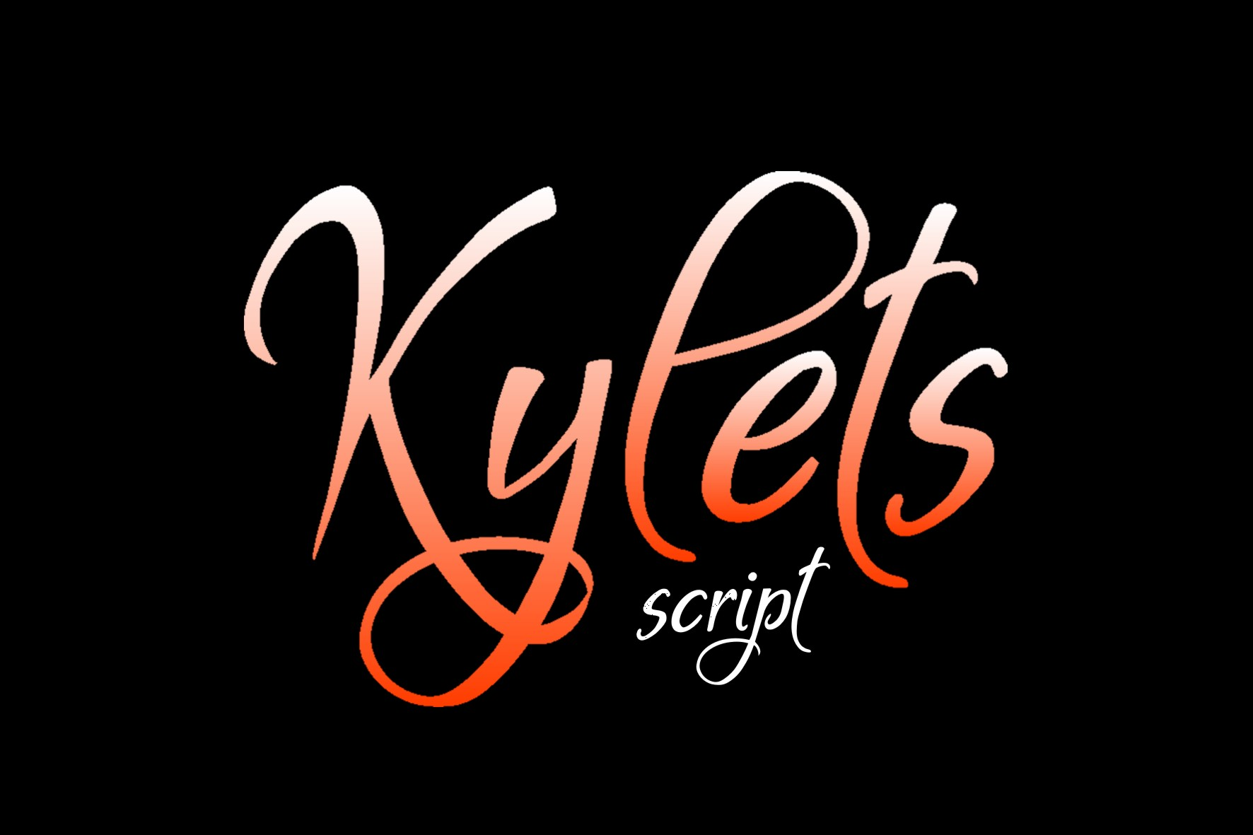 Kylets Font example image 4