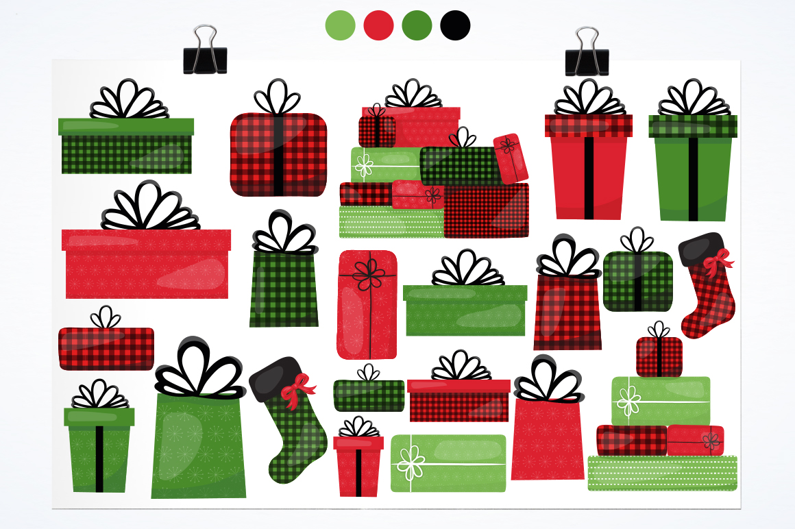 Christmas Gift graphic and illustrations example image 3