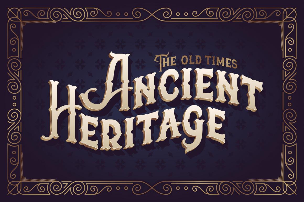 The Far Kingdoms font example image 2