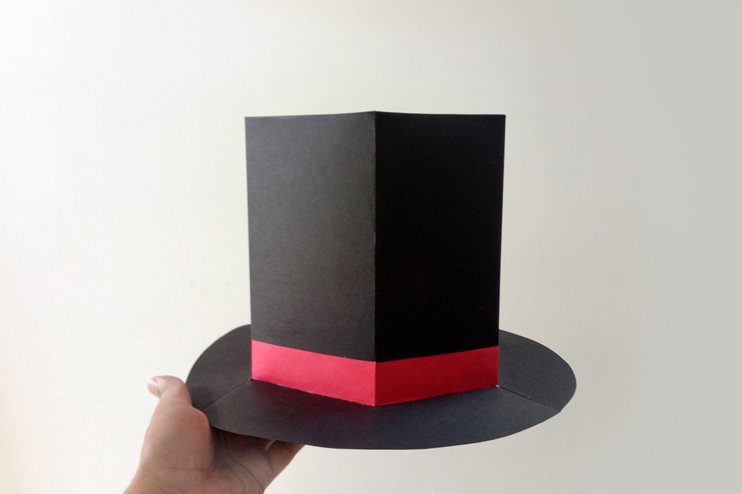 DIY Hat with Cigar - 3d papercraft example image 4