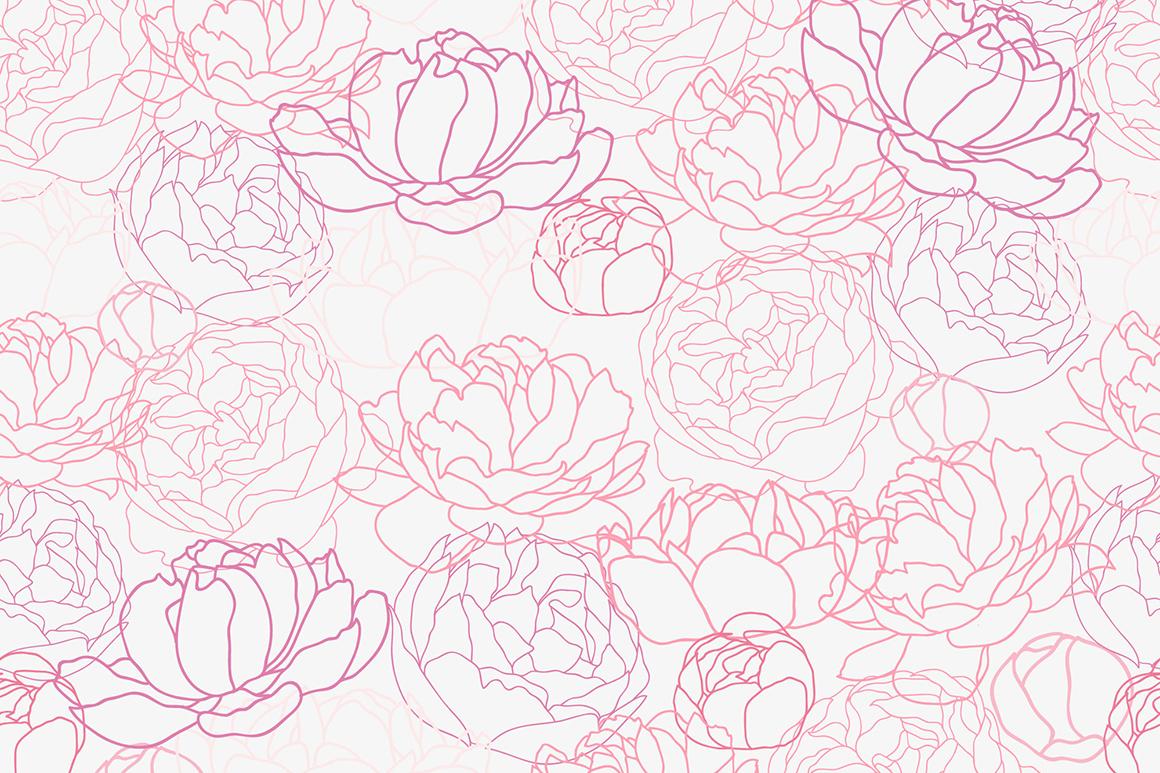 Flower Peonies example image 6