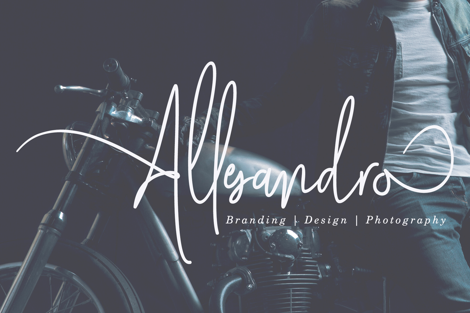 Mollaroid | Signature Font example image 8