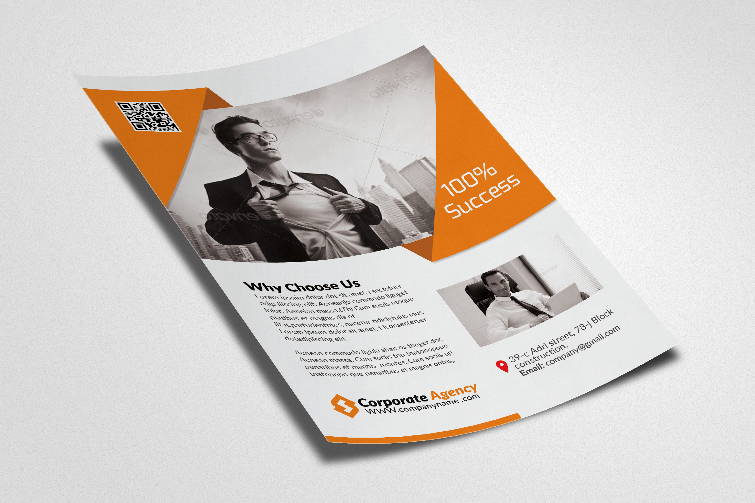 Business Marketing Agency Flyers example image 3