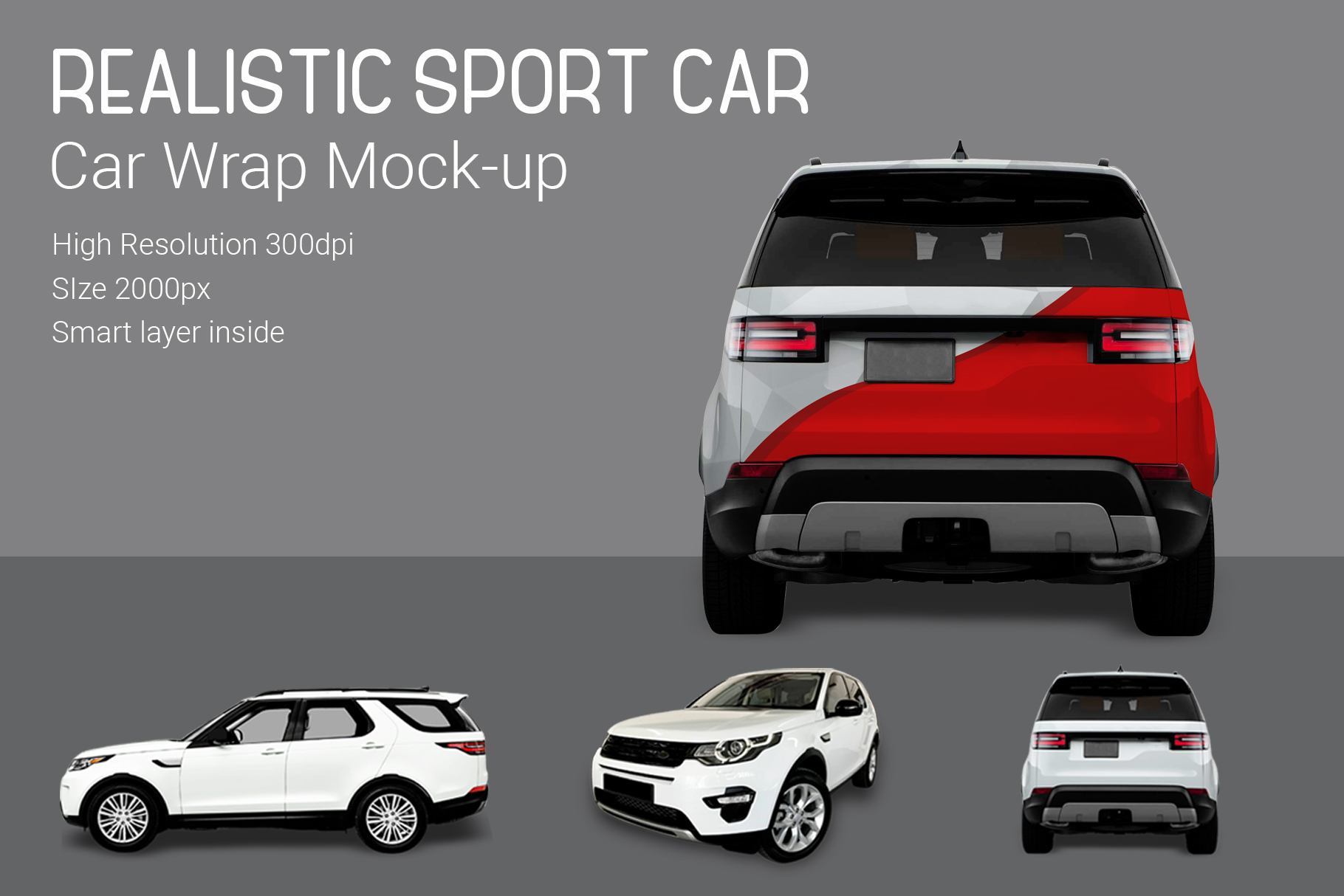 Sport Car Mock-Up example image 3