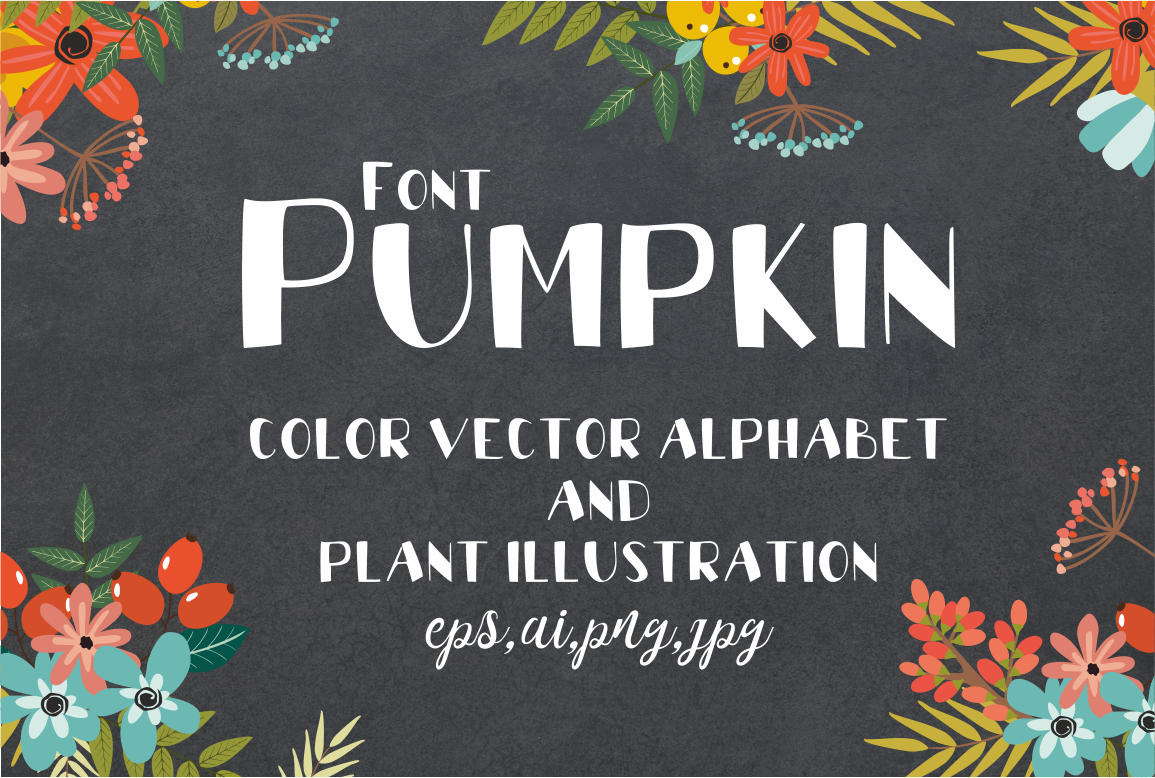 Font Pumpkin example image 1