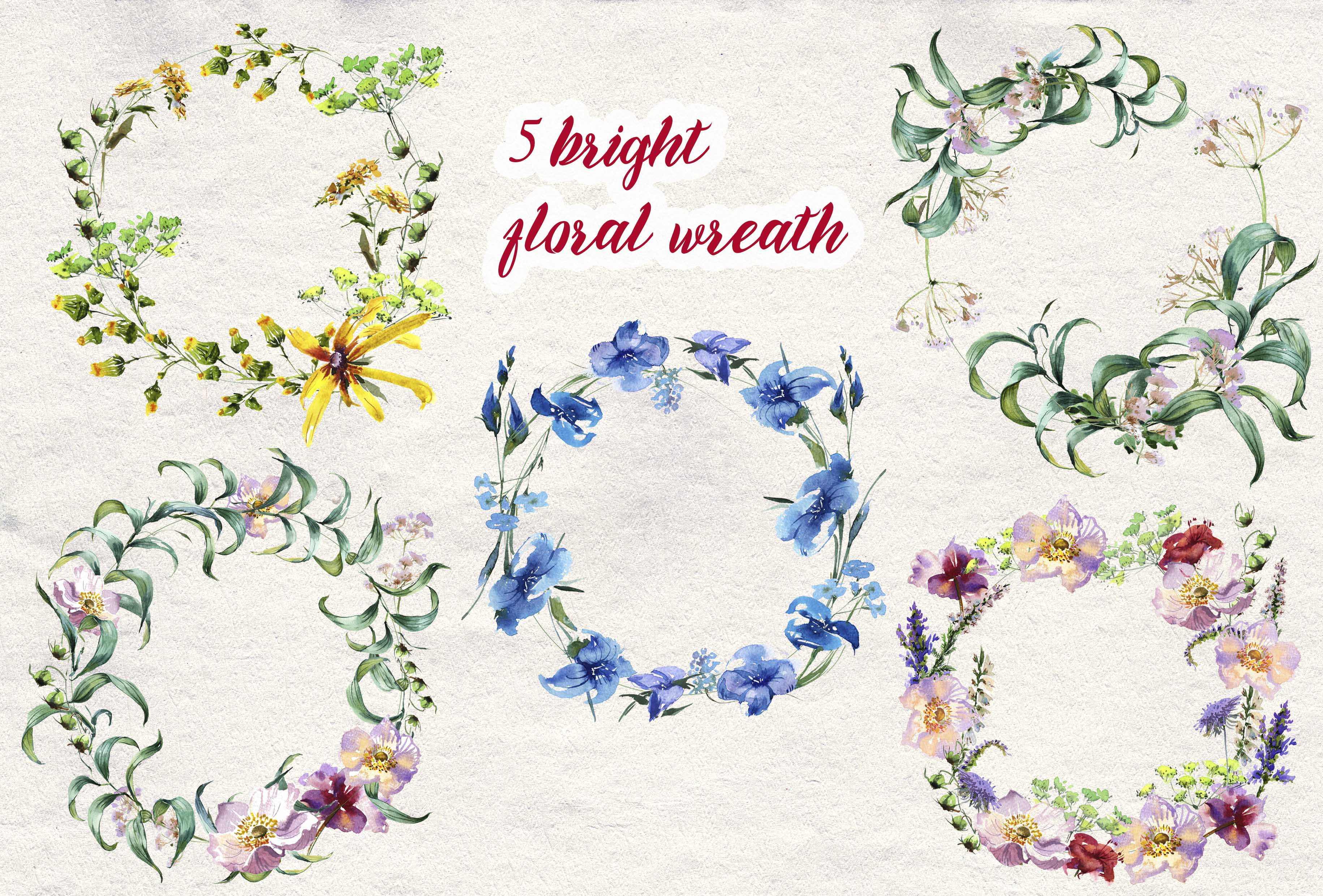 Summer Wreath example image 2