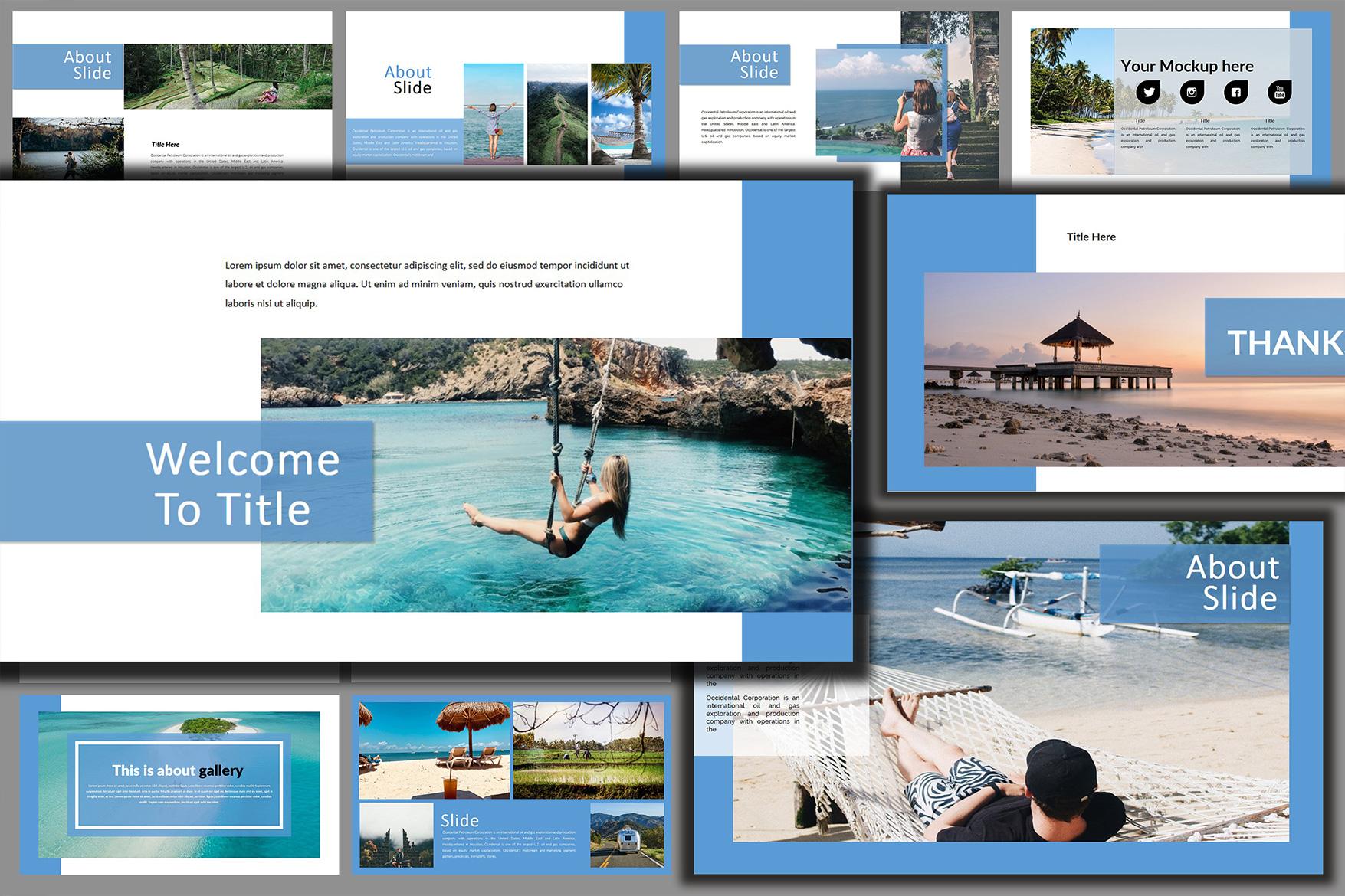 Holiday - Google Slides Presentation example image 7