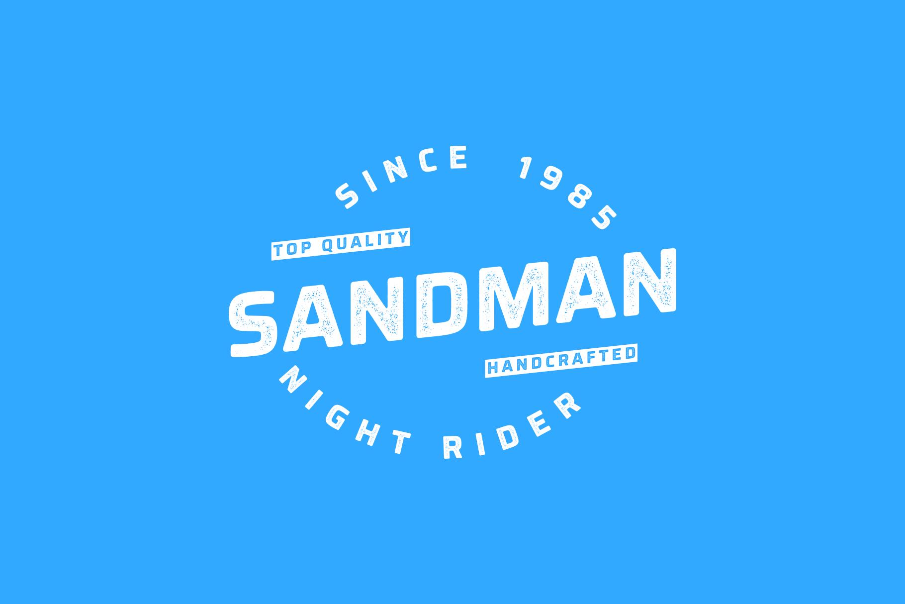 Montara - Sans serif duo Clean+Textured version example image 2