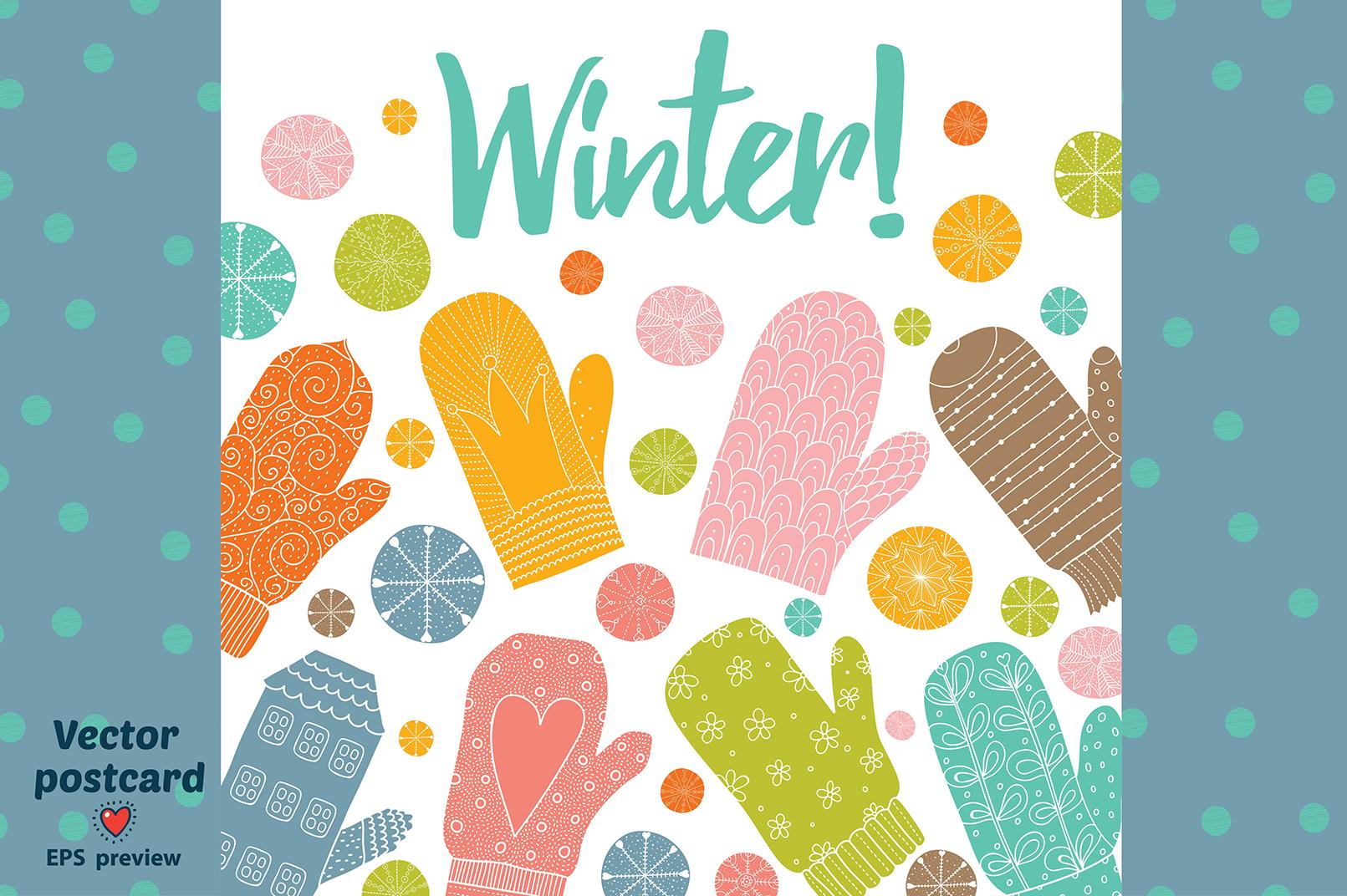 Winter motifs. example image 6