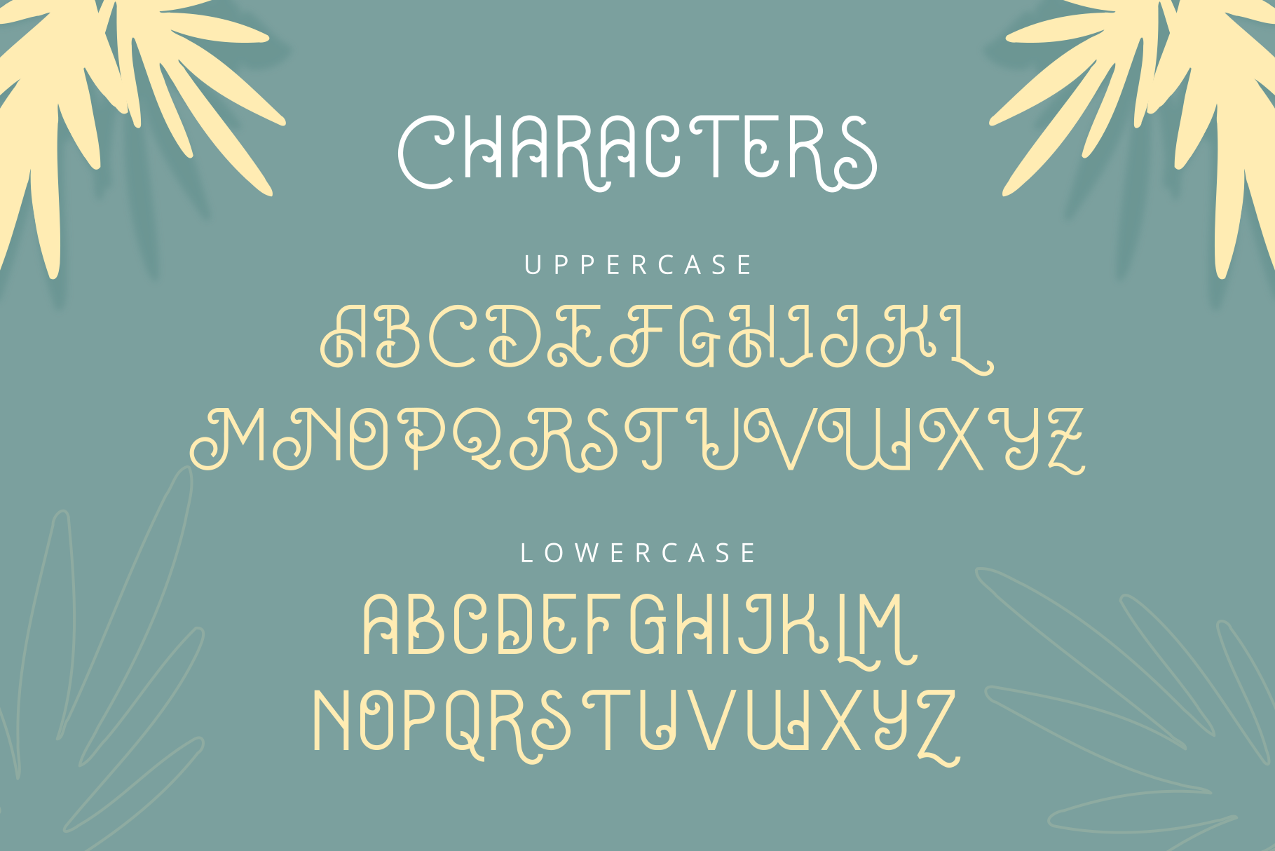 Oceania Display Font example image 4