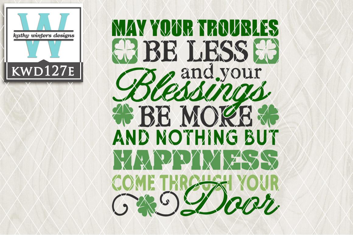 St. Patrick's Cutting File KWD127E example image 1