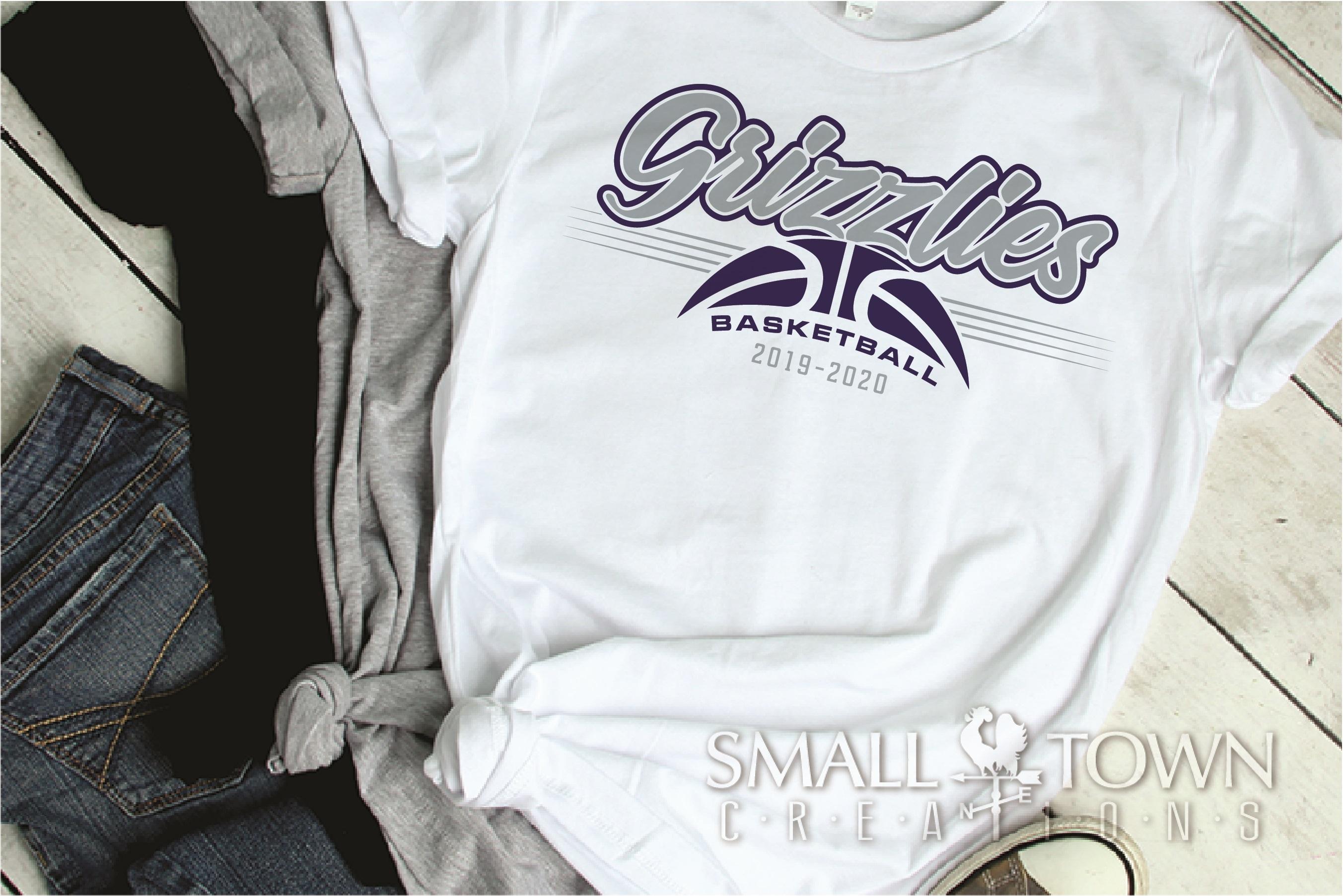 Grizzlies, Basketball, Sport, Team, Logo, PRINT, CUT, DESIGN example image 2