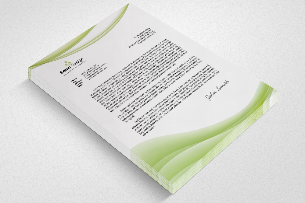 Business Letterheads Psd  Template example image 3