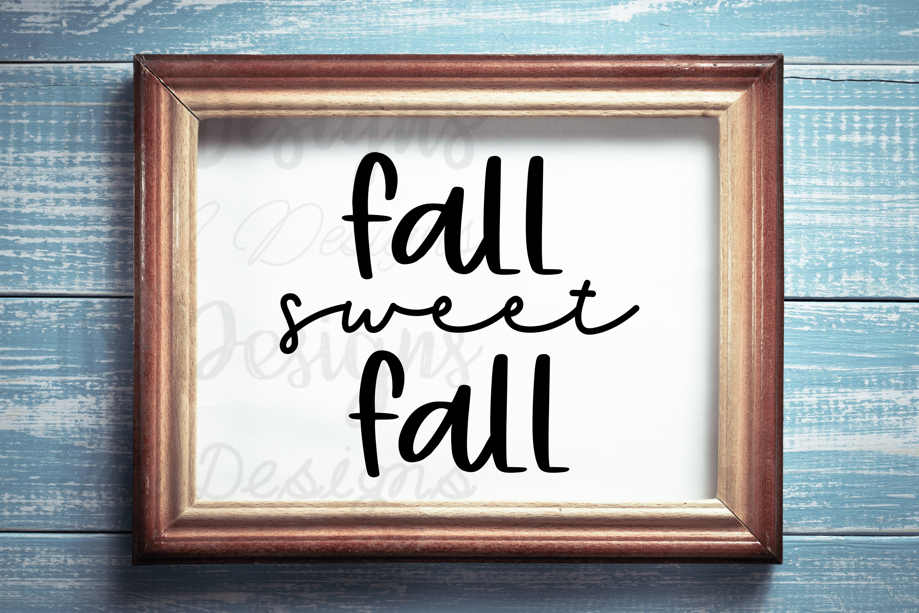 Fall Sweet Fall SVG example image 1