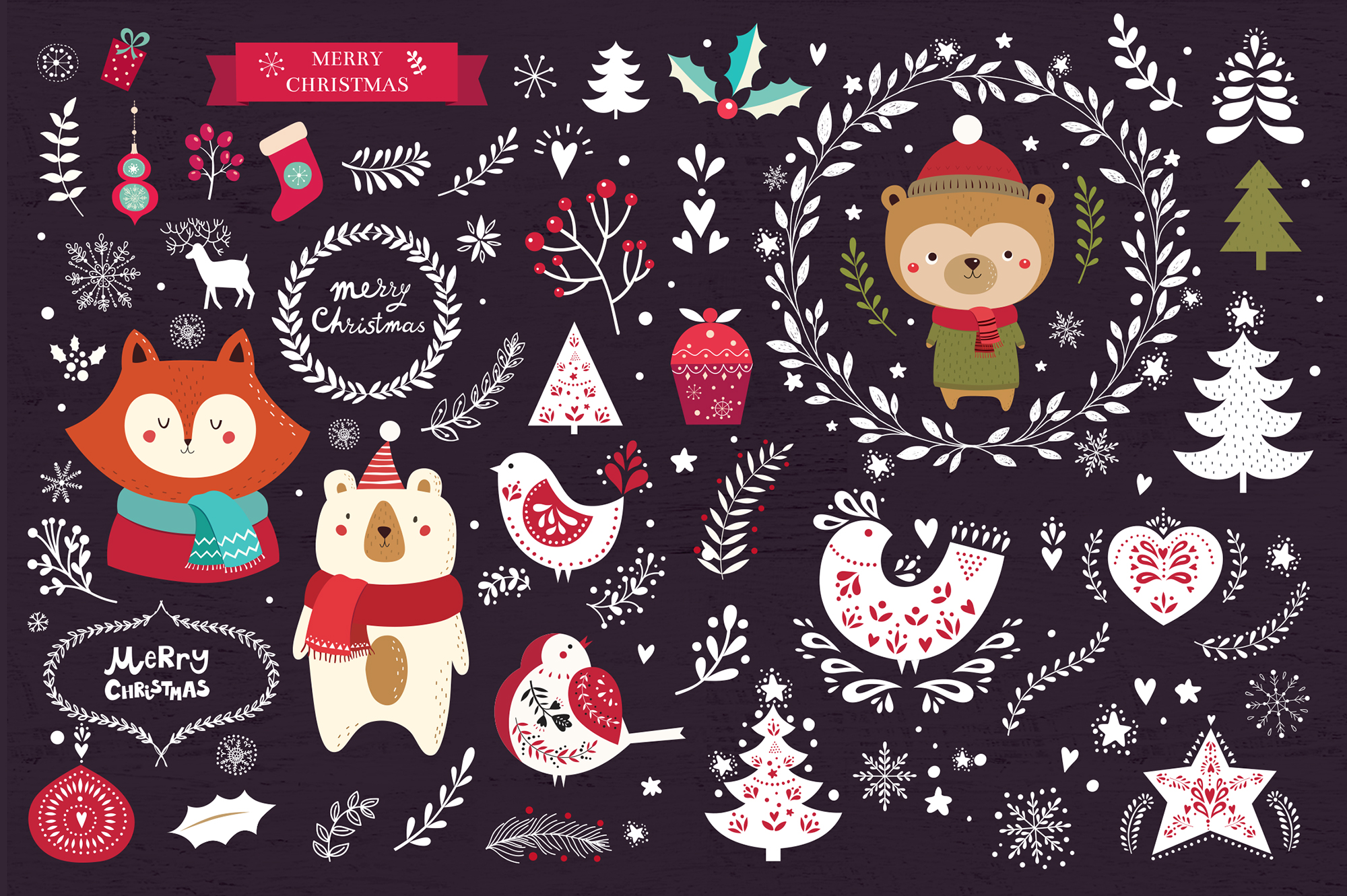 Big Christmas Bundle example image 6