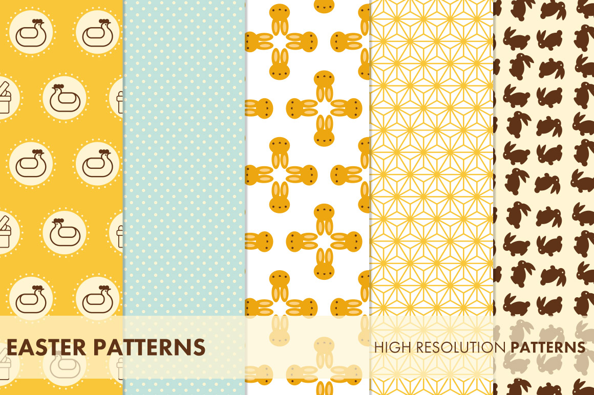 Easter Patterns example image 2