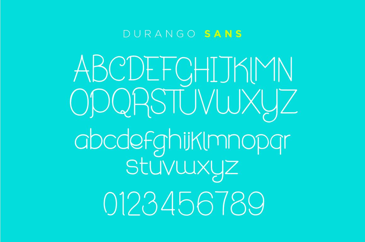 Durango & Ogra Font Duo example image 4