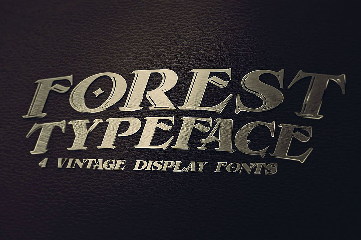 Forest - Display Font example image 2