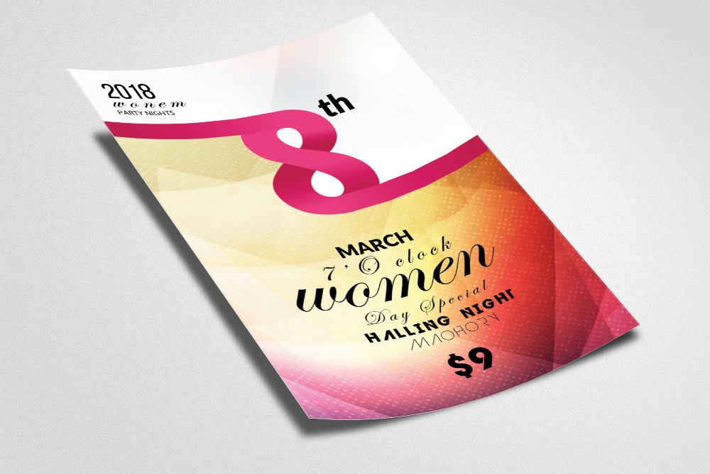 Women Day Flyer example image 2