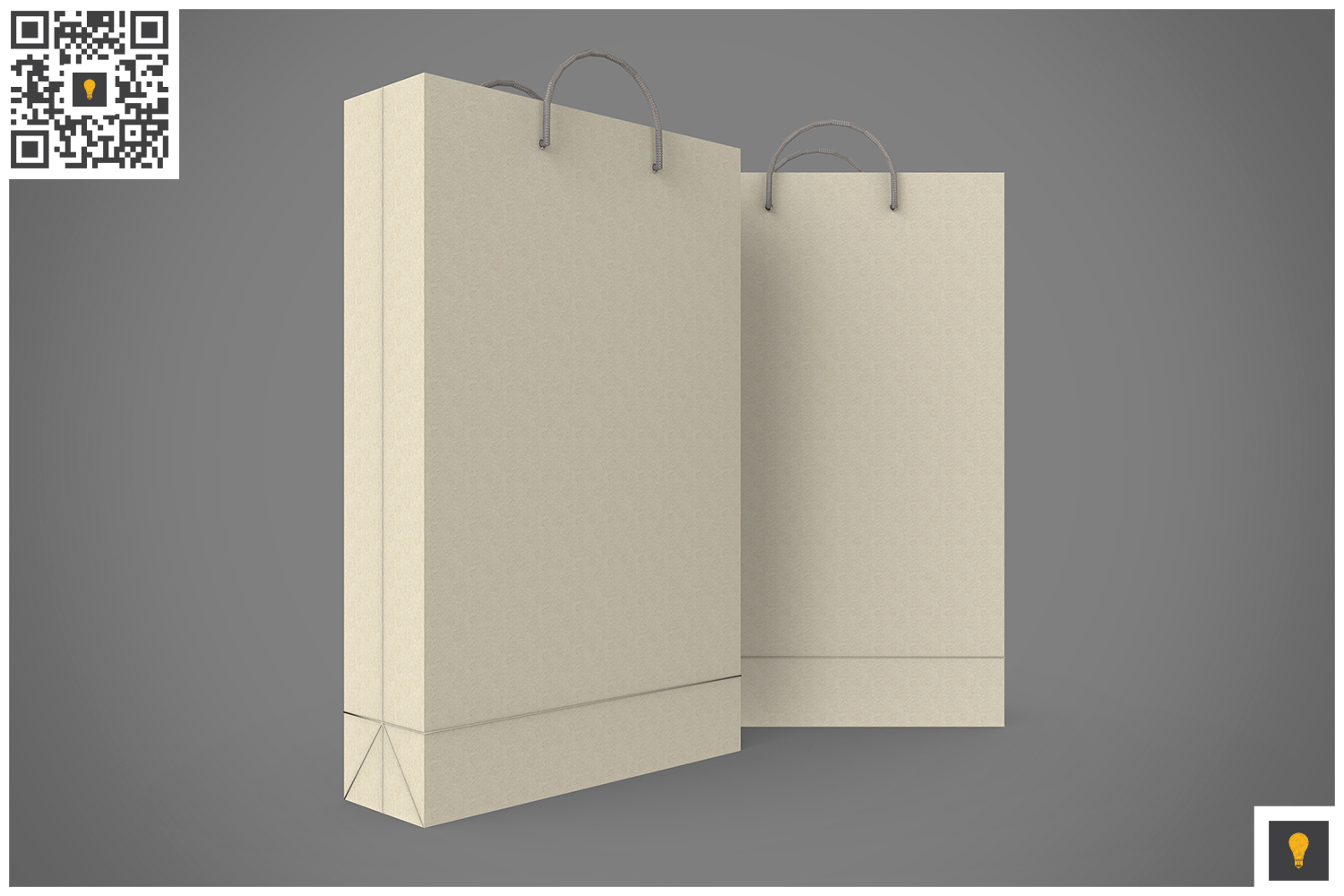 Shopping Bag 3D Render example image 14