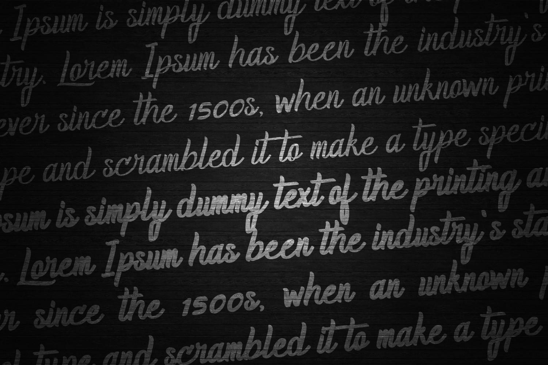 Homerun Typeface I 30%OFF example image 5