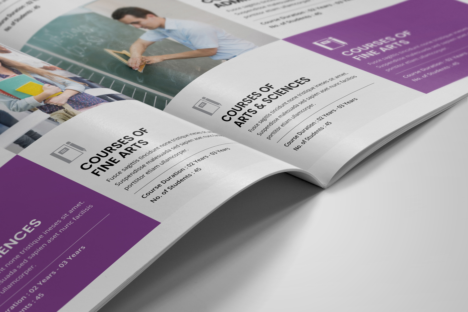 Education Prospectus Brochure v7 example image 8