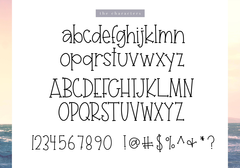 Seagull - A Fun Handwritten Font example image 8